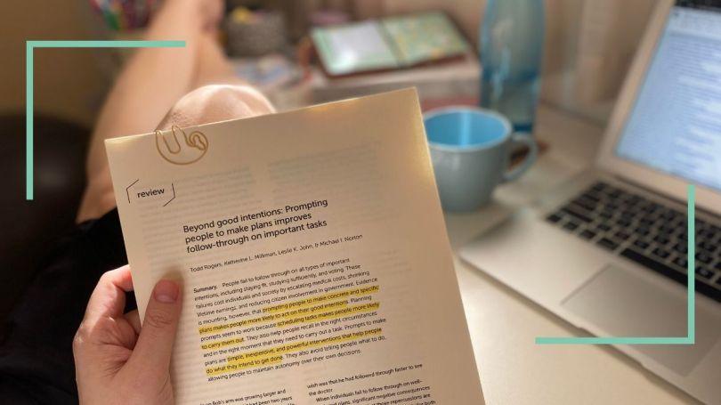 Paper sobre o gap entre intenção e ação e planning prompts